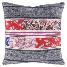 John Robshaw Textiles - Thai Hilltribe 683 - Souk Pillows - souk