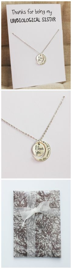 Love you to the moon and back best friend special gift pendant jewelry necklace