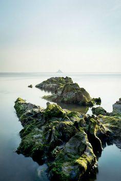 ilaurens:  Mont Saint-Michel, Normandy Coast - By: (Julien...