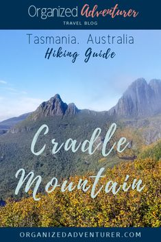 This guide has everything you need to know to summit Cradle Mountain on a day hike in Tasmanina, Australia, including how to prepare and trail notes. Tasmania Travel, Travel Captions, Round The World Trip, Hiking Guide, Travel Advice, Travel Guides, Travel Drawing, Mountain Hiking, Day Hike