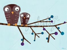 Owl Perch - Vicky Barone