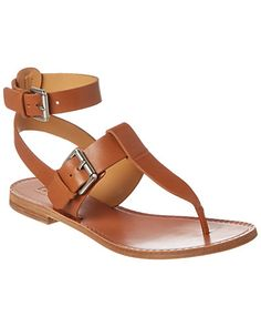 Rue La La — Belle by Sigerson Morrison Reily Leather Sandal