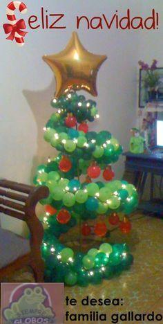 Christmas balloon figures on Pinterest