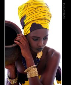 African Wear, African Women, African Fashion, Mode Turban, African Head Wraps, Yoruba, Head Wrap Scarf, African Beauty, Beautiful Black Women