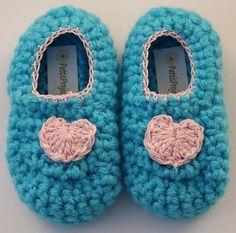 Infant Heart Slippers