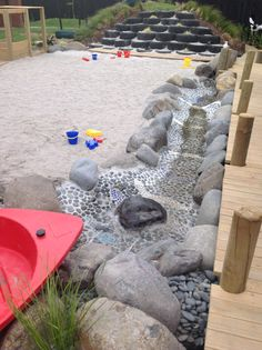 let the children play: Series: how to create irresistible play spaces for children aus steinen Play More Month - DaddiLife Outdoor Learning Spaces, Outdoor Play Areas, Outdoor Fun, Outdoor Centre, Outdoor Photos, Preschool Playground, Backyard Playground, Playground Ideas, Toddler Playground