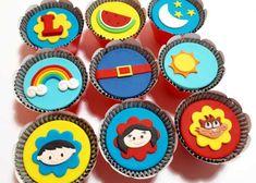Cupcake Show Da Luna, Bolo Moana, Cupcakes Decorados, Birthday Parties, Blog, Sugar, Festa Party, 35, Chocolates