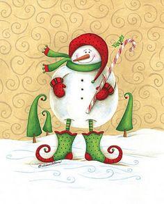 Stocking Steve by Diane Arthurs Christmas Signs, Christmas Snowman, Christmas Holidays, Christmas Crafts, Christmas Decorations, Christmas Ornaments, Christmas Clipart, Christmas Ideas, Xmas