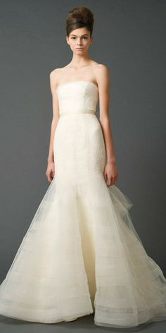 Vera Wang Georgina Trumpet Wedding Dress