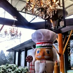Ahhh... A beautiful #snowday in #Vancouver. Where will our #CookingNutcracker be today? We'll give you some hints: Highest point in Vancouver, has a #winebar, fully renovated restaurant, uses a wood burning #grill, one of the best #patios in the city, some of the best #WestCoast cuisine since 1989.....   That's right! Seasons in the Park!