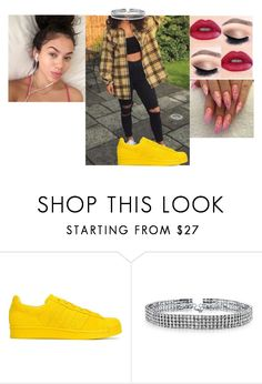 """""""photoshot with the girls 🎀yanni🎀"""" by geazybxtch24 ❤ liked on Polyvore featuring adidas Originals and Bling Jewelry"""