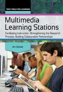 Multimedia learning stations : facilitating instruction, strengthening the research process, building collaborative partnerships by Jen Spisak. Information Literacy, Learning Stations, School Librarian, Media Specialist, Whats New, Libraries, Multimedia, High School, Technology
