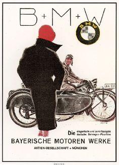 BMW motorcycle with sidecar circa advertising art poster print Motos Bmw, Bmw Motorbikes, Bmw Motorcycles, Vintage Motorcycles, Bike Poster, Motorcycle Posters, Motorcycle Art, Scrambler Motorcycle, Vintage Advertising Posters