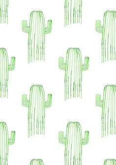 cactus illustration by Naomi Elliott Illustration Cactus, Illustration Inspiration, Pattern Illustration, Watercolor Illustration, Pretty Patterns, Beautiful Patterns, Color Patterns, Surface Pattern, Pattern Art