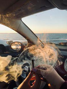 Smoke weed in your car Badass Aesthetic, Bad Girl Aesthetic, Girl Smoking, Smoking Weed, Rauch Fotografie, Fille Gangsta, Cigarette Aesthetic, Smoke Photography, Stoner Art