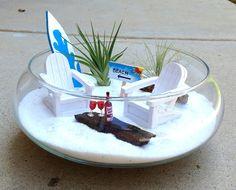 Air Plant Terrarium. Beach Garden Escape for Two. $45.00, via Etsy.
