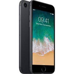 Foto 1 - iPhone 7 128GB Preto Matte Desbloqueado IOS 10 Wi-fi + 4G Câmera 12MP - Apple