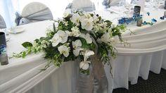 Image result for bridal table flower arrangement