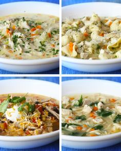 Love these recipes but will probably make my own broth or stock