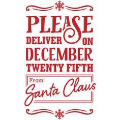 Design Store Product ID 231826 Christmas Signs, Christmas Projects, Christmas Phrases, Christmas Ideas, Silhouette Cameo Projects, Silhouette Design, Christmas Printables, Christmas Labels, Santa Sack