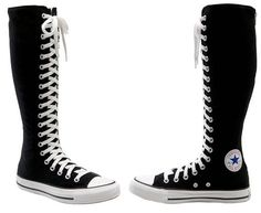61bde4a13e2 Converse Chuck Taylor XX Hi Knee High Sneaker. Need these. Sneaker Stiefel