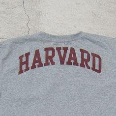 """画像10: 【予約・4月下旬頃入荷】 Harvard University """"HARVARD"""" 7.1oz米綿丸胴オールドプリントクルーネックポケットT / Audience"""