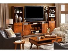 Mid-century must-haves–Pacific Heights TV Stand & Media Wall