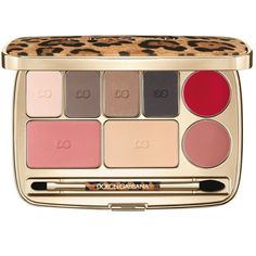 Dolce & Gabbana Make-up Beauty Voyage Make-Up Essential Palette (785240 PYG) ❤ liked on Polyvore featuring beauty products, makeup, face makeup, palette makeup, dolce gabbana makeup and dolce gabbana cosmetics