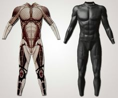 For my character: lightweight, bulletproof, full body suit