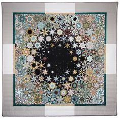 """All Bruce Seeds Quilts. This one titled """"Please Stand By"""""""
