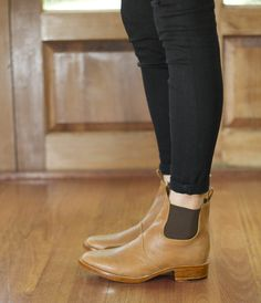 low dress boots