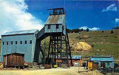 CO-Colorado-Cripple-Creek-Victor-El-Paso-Gold-Mine-Unused-Chrome-Postcard