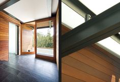 Design details of the interior of the Lovell Residence as designed by Quezada Architecture