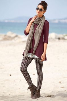 Boysen's Longshirt im Online Shop von Ackermann Versand Mode Online Shop, Winter Mode, Leggings, Weekend Style, Boho, Outfit, Rebecca Minkoff, Marsala, Eyeglasses
