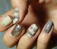 Lindas uñas con diseños   Otoño con moda