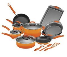Target has a Rachel Ray Cookware Black Friday Deal online. Purchase the Rachael Ray 16 Piece Porcelain Cookset – Orange for just $94.99.