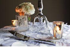 Stylish, tactile wedding details.