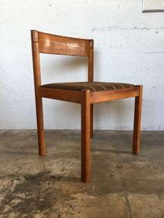 Vintage Danish mid century modern dining/accent chair by Nissen of Denmark by KASEVINTAGE on Etsy