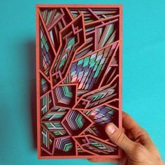 Cut Plywood Relief Sculptures Embedded with Mandalas and Geometric Patterns by Gabriel Schama (Colossal) Laser Art, Laser Cut Wood, Laser Cutting, Gabriel, Wood Artwork, Ernst Haeckel, Colossal Art, Geometric Art, Geometric Patterns