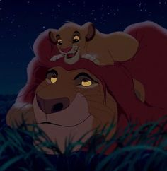 Day 24 favorite parent: is mufasa from the lion king and Karla from tarzan couldn't decide love them both the love they had for their children is amazing Lion King 3, The Lion King 1994, Lion King Movie, Disney And More, Disney Love, Disney Magic, Le Roi Lion Disney, Disney Lion King, Disney Films