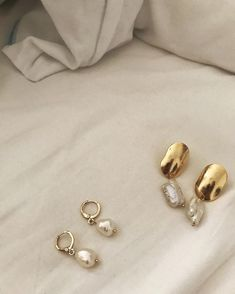 Celine, Pale Fire, Prada, Perfume, Baroque Pearls, Cat Lover Gifts, Matte Gold, Gold Studs, Navy Blue
