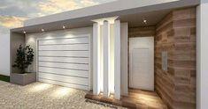 Best 12 56 ideas house facade render home for 2019 – SkillOfKing. House Gate Design, Gate House, House Front Design, House Entrance, Facade House, Modern Home Interior Design, Dream Home Design, Modern House Design, Modern Garage Doors