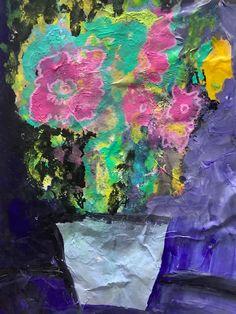 Fine art painting My Arts, Vase, Fine Art, Flowers, Painting, Painting Art, Paintings, Vases, Visual Arts