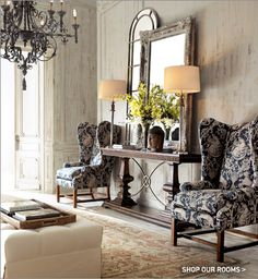 love the foyer table, lamps, ALL OF IT. Providence Ltd Design - ProvidenceLtdDesign - Living Room and Foyer Design.It's Friday and it's Fabulous! Foyer Design, House Design, Round Foyer Table, Entry Tables, Entrance Table, Round Tables, Sofa Tables, Muebles Living, Entrance Ways