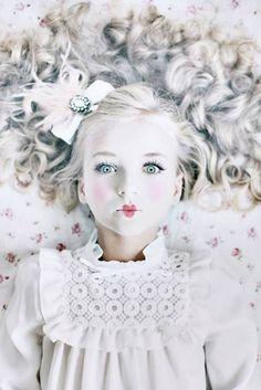 Puppe Karneval Kostüm für Kinder