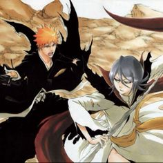 Bleach Fade to Black! Rukia and Ichigo in Bankai form!!