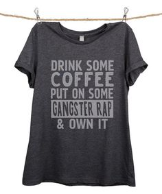 Love this Charcoal 'Own It' Relaxed Tee - Women & Plus on #zulily! #zulilyfinds
