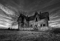 Isolated by Karen von Knobloch, via Abandoned Houses, Ghosts, Cathedral, Explore, Building, Places, Travel, Home, Abandoned Homes
