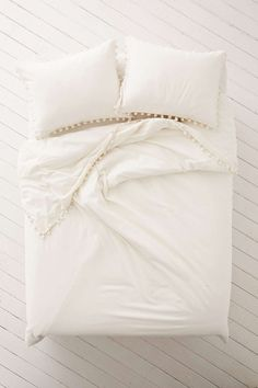 Magical Thinking Pom-Fringe Duvet Cover