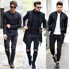 Pin by nicholas owens on outfits mens fashion, fashion, mens style guide. Topman Fashion, Fashion Mode, Mens Fashion, Street Fashion, London Fashion, Fashion Black, Daily Fashion, Fashion Clothes, Fashion Trends